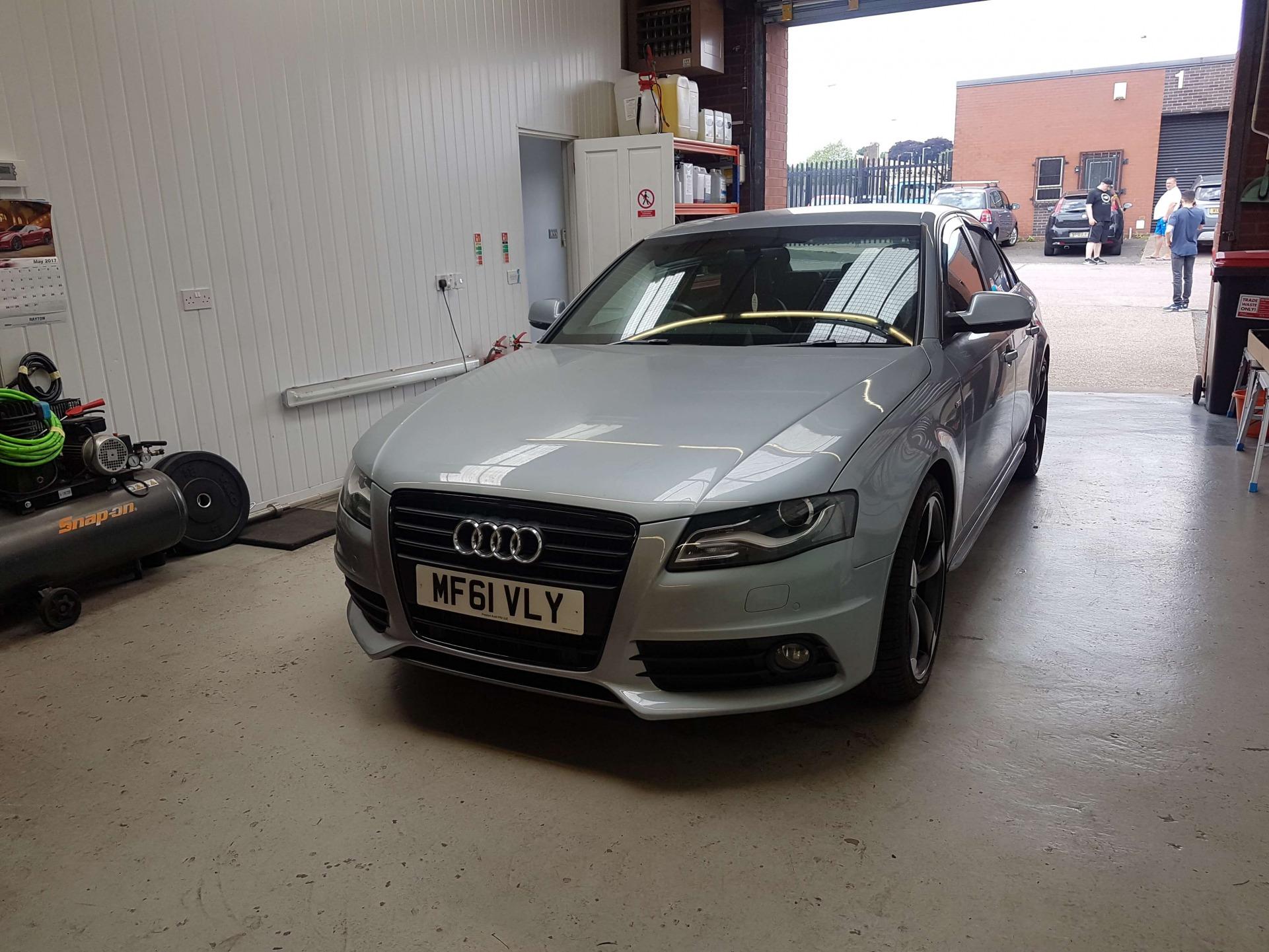 Audi A4-B8 S4 Conversion