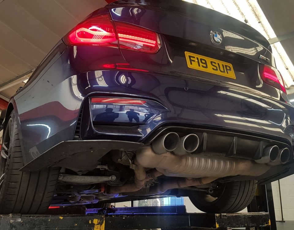 BMW M3-F30 F80 3.0 TURBO Exhaust System