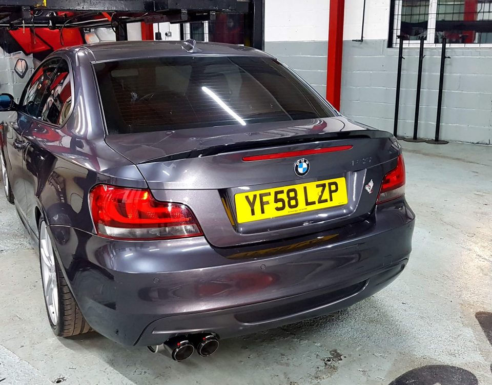 BMW 1 SERIES-135I Exhaust System