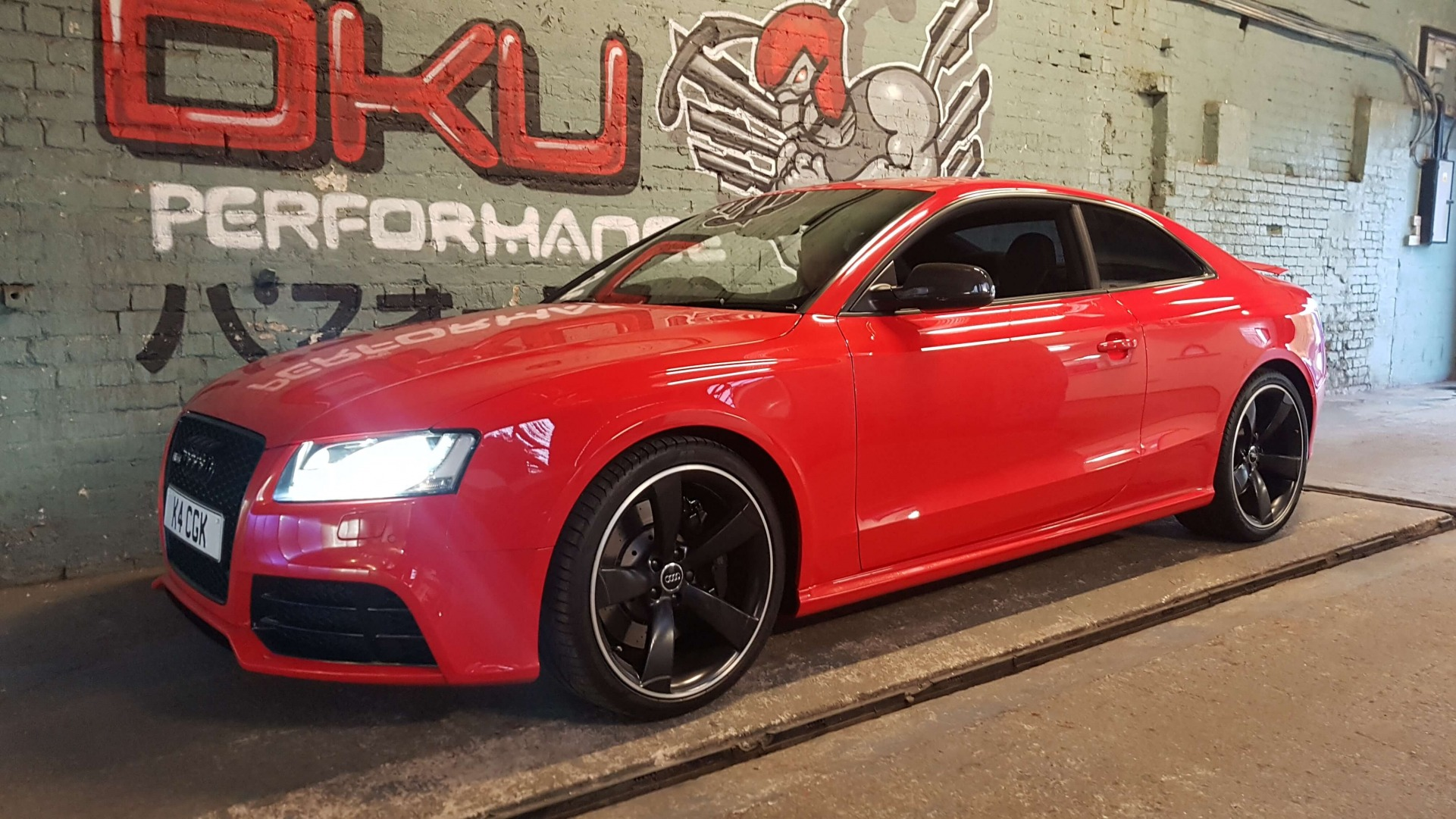 Audi RS5 4.2 V8 FSI Exhaust system