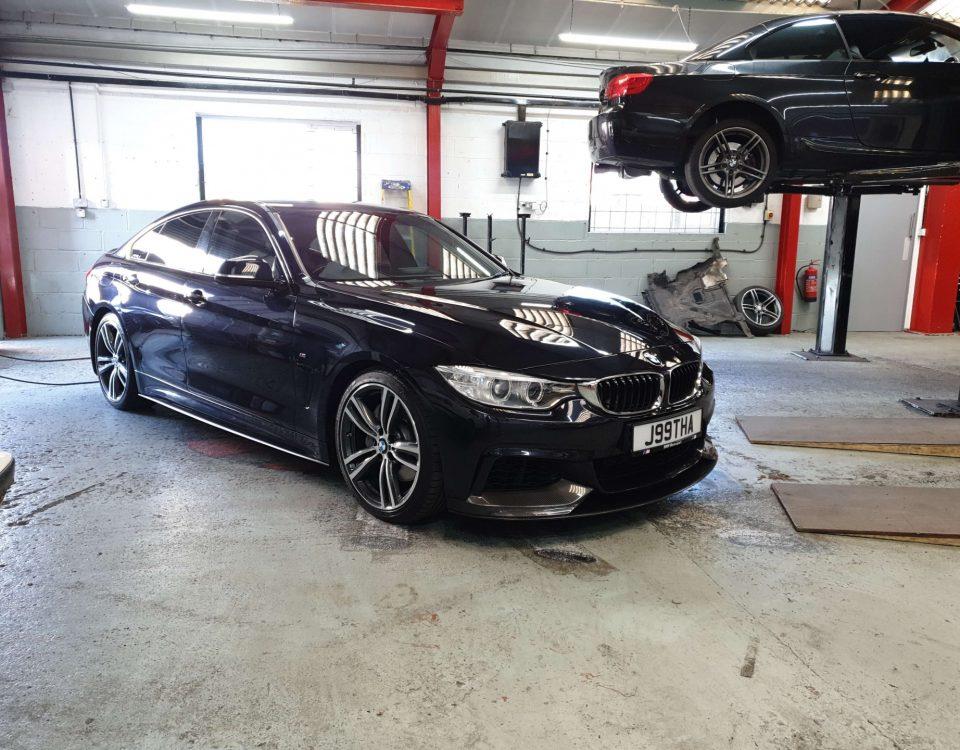 BMW 4 SERIES quad conversion