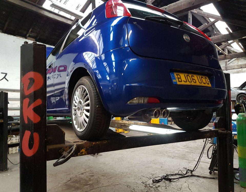 Fiat PUNTO-Grande Punto Exhaust Repair