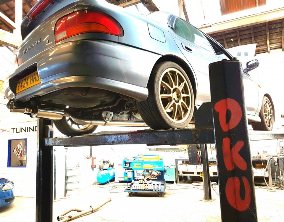 Subaru IMPREZA-RB5 Carbon Cleaning