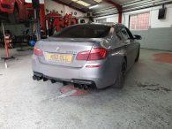 BMW F10 M5 Quad Conversion carbon cleaning