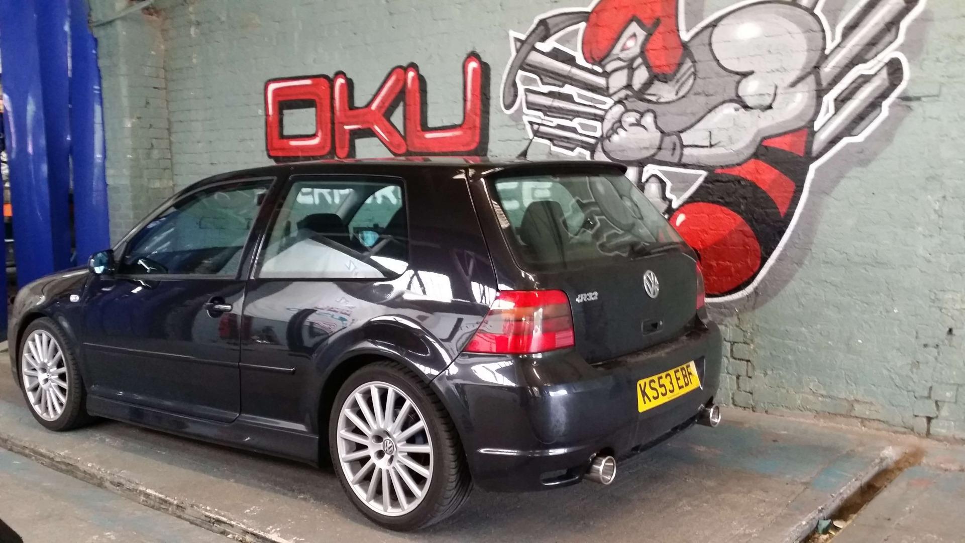 VW GOLF R32 MK4 Ecu Remap