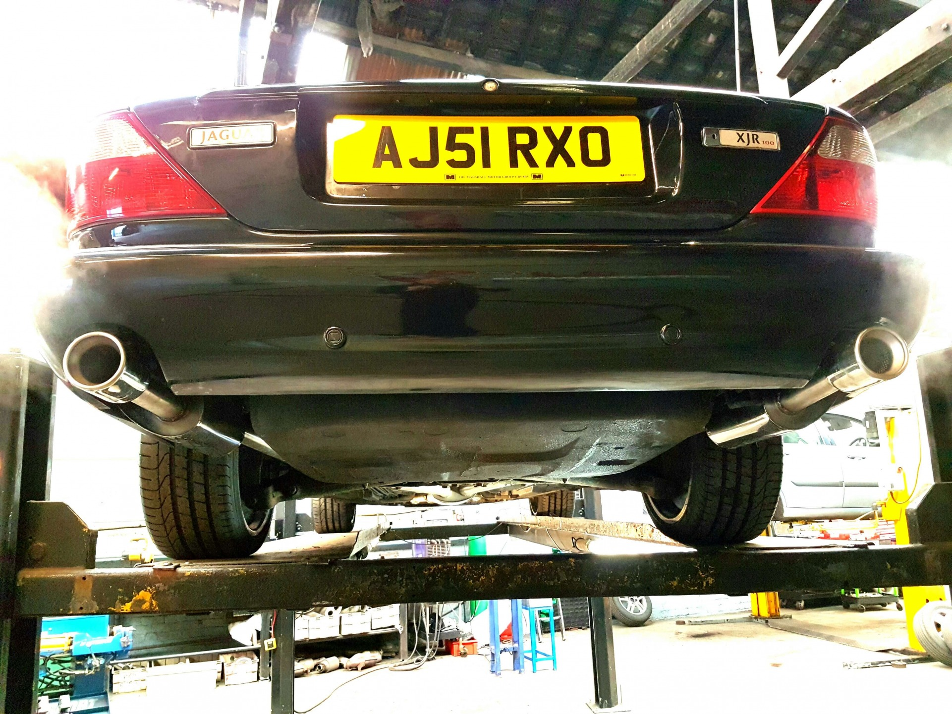jaguar XJR-4.2 V8 Exhaust System