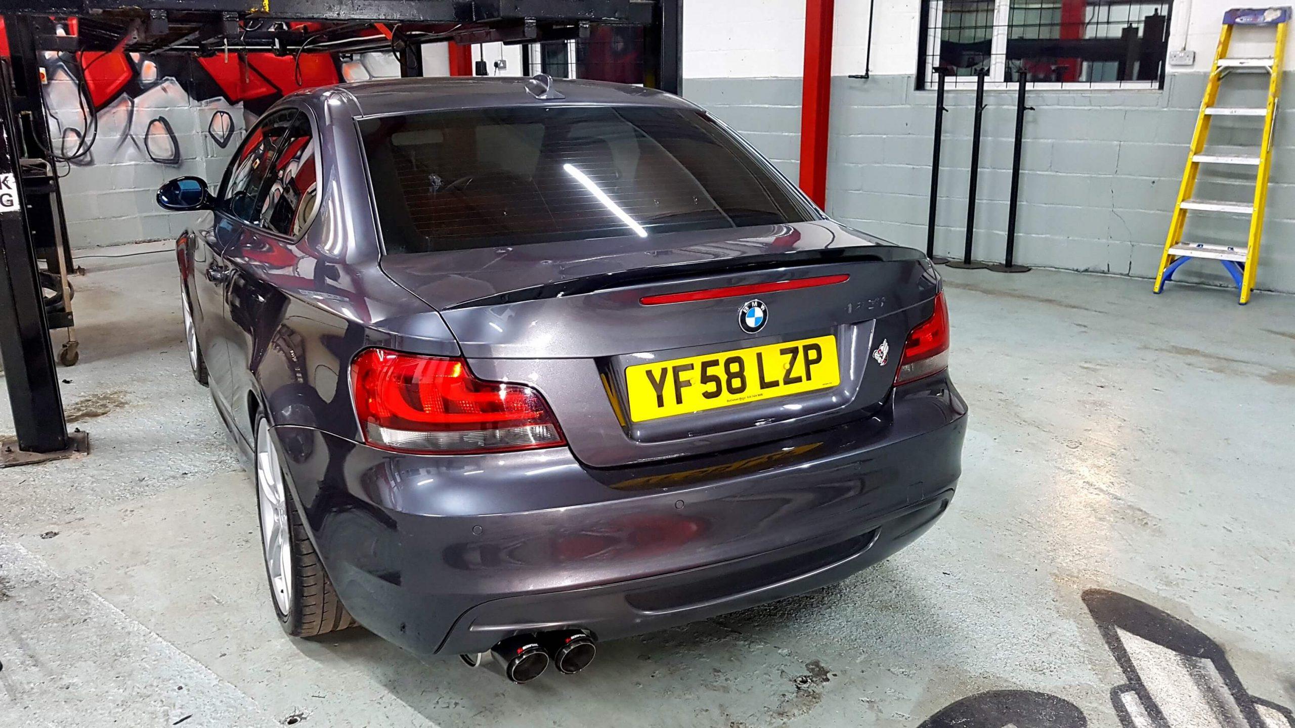 BMW 1 SERIES-135I E82 Exhaust System