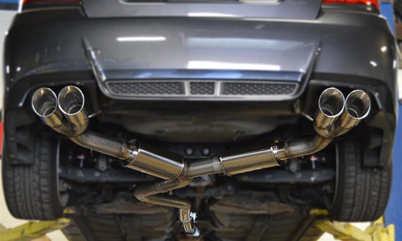 STI Performance Exhaust vs Stock
